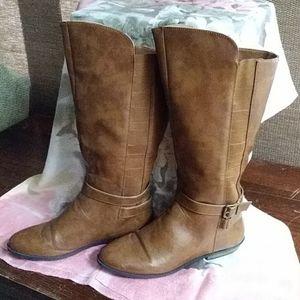 Madden girl calf high boots